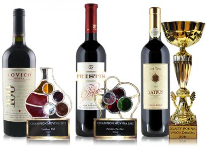 Naši šampióni - kvalitné vína ocenené vo svete v našej ponuke