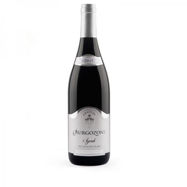 Burgozone Silver Syrah 0,75 l - červené suché víno