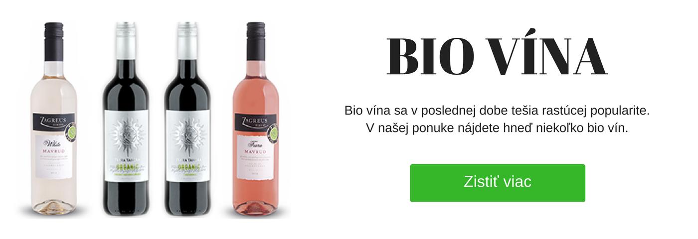 Bio vína - víno - Alista