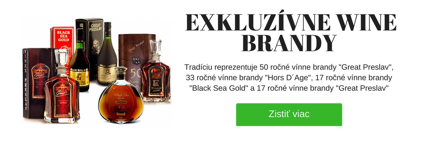 Exkluzívne ročníkové brandy - brandy - Alista