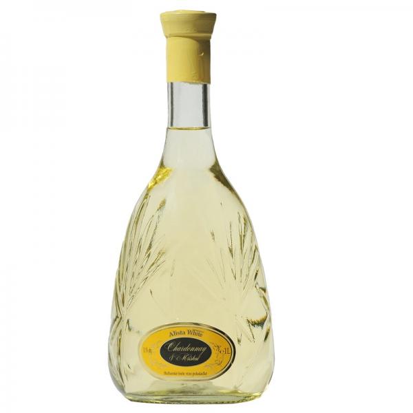 Alista biele 1,0 l - biele polosladké víno