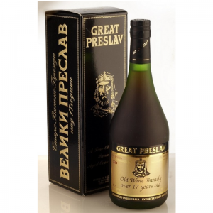 Brandy Great Preslav 0,7 l 40% 17 r. kr.