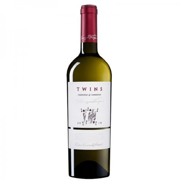Twins Chardonnay&Chardonnay 0,75 l - biele suché víno