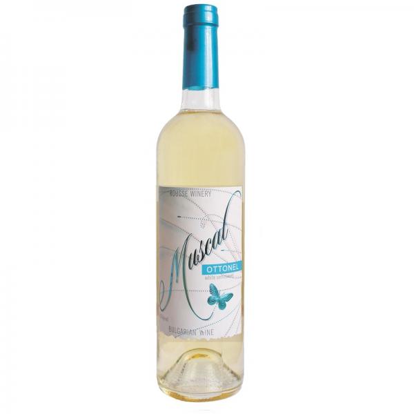 Muškat Ottonel 0,75 l - biele polosladké víno