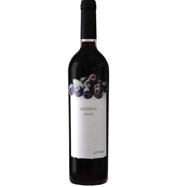 Arónia 0,75l - červené ovocné víno
