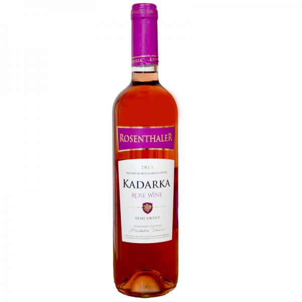 Kadarka Rose x - ružové polosladké víno 0,75 l