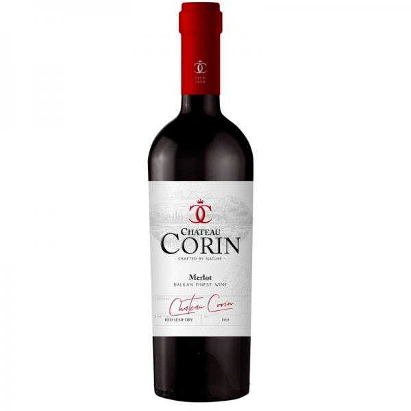 Corin Merlot 0,75 l - červené polosuché víno