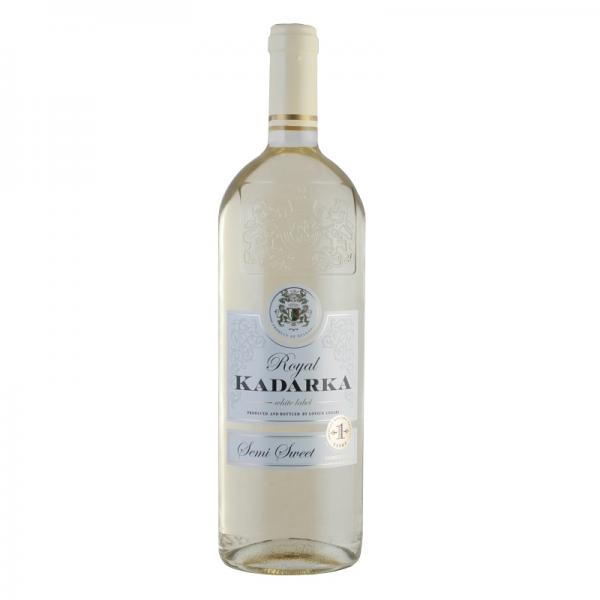 Kadarka Royal biela 1,0 l - biele polosladké víno