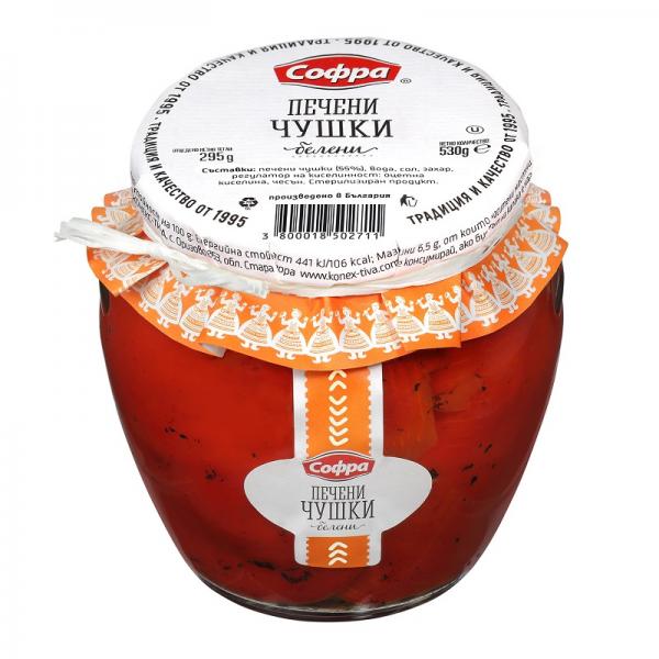 Paprika opekaná olúpaná 530 g