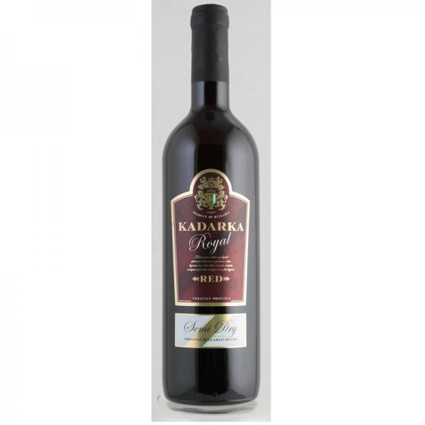 Kadarka Royal 0,75 l - červené polosuché víno