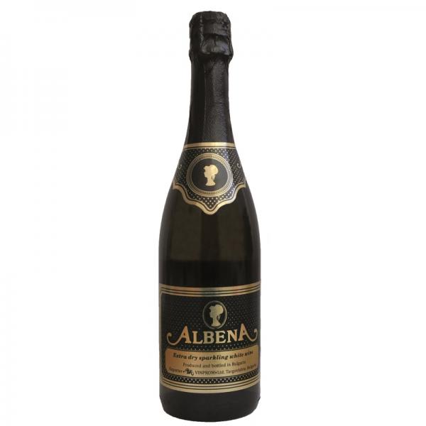 Albena 0,75 l - biele šumivé suché víno